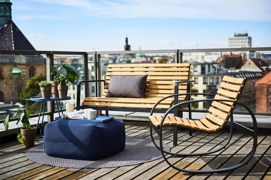 Aluminum made outdoor furniture