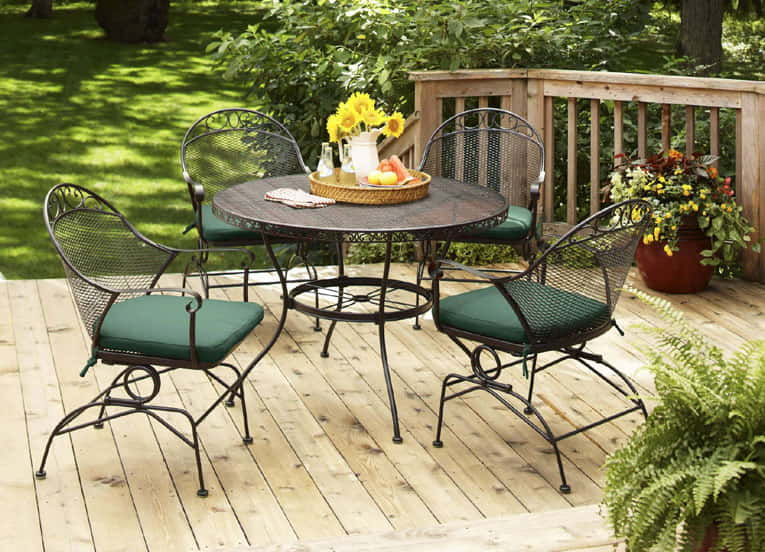 Durable material for outdoor furniture